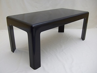 Carbon fibre coffee table